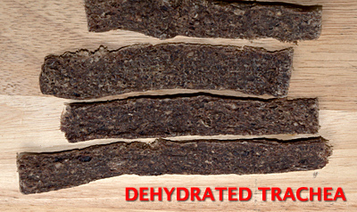 Dehydrated Trachea Treats for Dogs