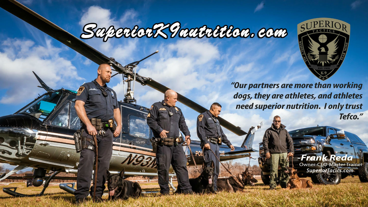 Purchase Raw Dog Food at Superior K-9 Nutrition